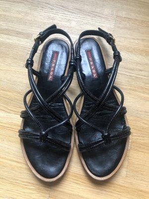 Prada Sandalo romano nero
