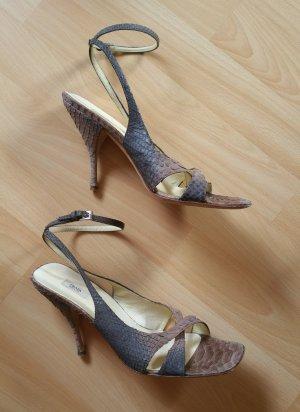 Prada Sandalen aus Pythonleder