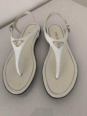 Prada Sandalo Dianette bianco