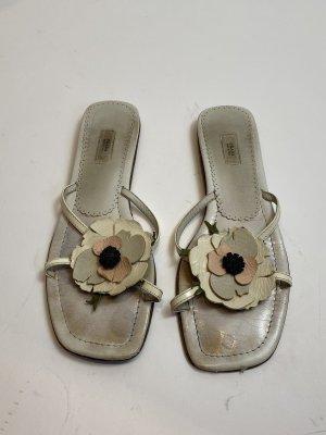 Prada Sandały plażowe biały