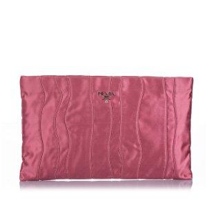 Prada Pochette rosé viscose