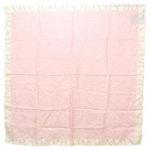 Prada Écharpe en tricot rosé soie