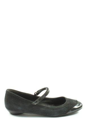 Prada Mary Jane Ballerinas schwarz Casual-Look
