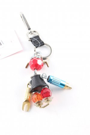 Prada Key Chain multicolored casual look
