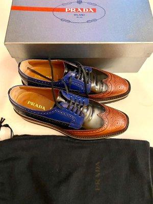 Prada Wingtip Shoes multicolored leather