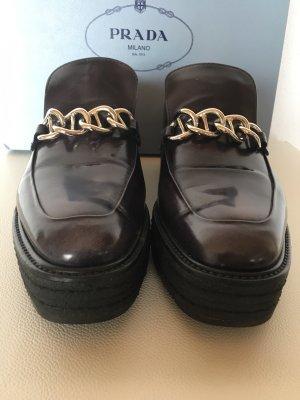 Prada Schuhe Boots Plateau  38,5