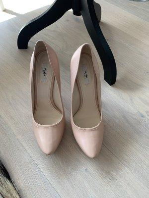 Prada Slip-on Shoes pink leather