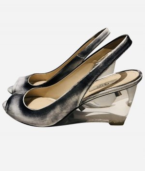Prada Wedge Pumps grey