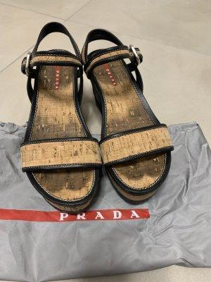 Prada Schuhe mit Keilabsatz