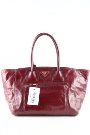 Prada Schultertasche rot Business-Look