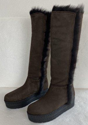 Prada, Shearling Boots, 41, Braun, neu, € 1.500-