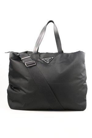 Prada Shopper zwart casual uitstraling
