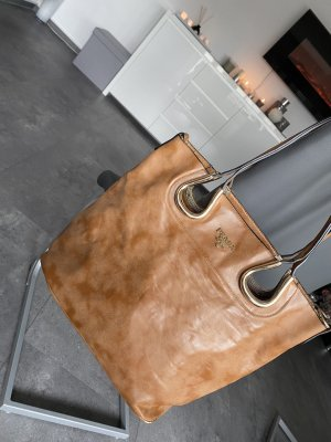 PRADA Shopper nocciolo ( NO Louis Vuitton, Chanel,Gucci,Michael Kors )