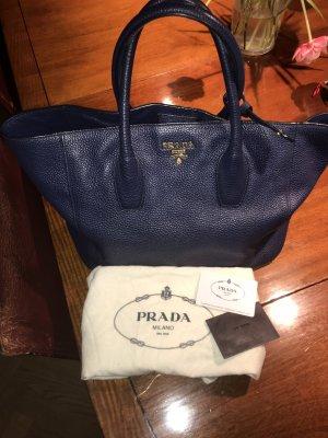 Prada Shopper blue