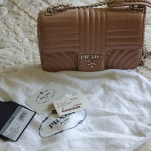 Prada Shoulderbag Diagramme in  nude / rosa, NEU!!!