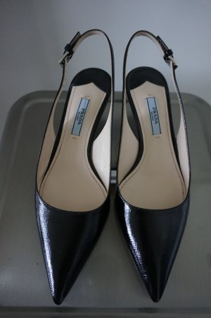 Prada Slingback Pumps black