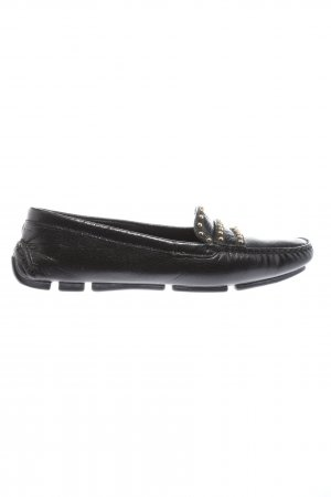 Prada Slipper schwarz Casual-Look