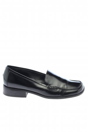 Prada Slipper schwarz Glanz-Optik