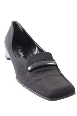 Prada Slipper schwarz Elegant