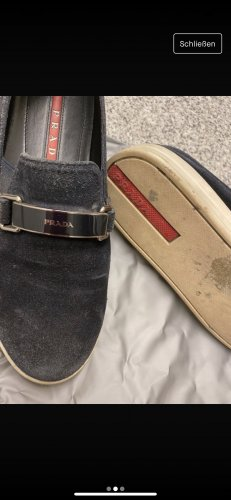 Prada Slip-on Sneakers dark blue