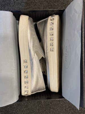Prada Sneaker Silber
