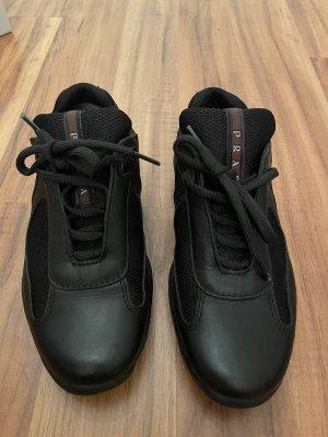 Prada Sneaker stringata nero