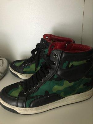 Prada High Top Sneaker multicolored