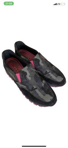 Prada Sneakers Gr. 38,5 Velourleder , w. Neu