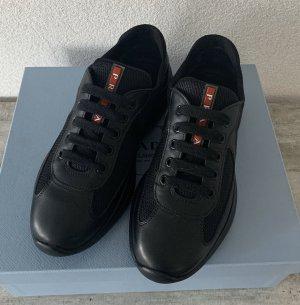 Prada Lace-Up Sneaker black