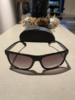 Prada Angular Shaped Sunglasses black