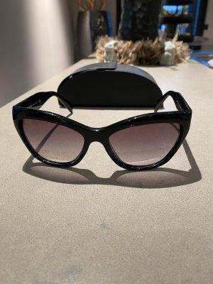 Prada Okulary motylki czarny
