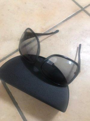 Prada Occhiale da sole spigoloso nero