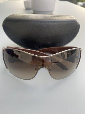 Prada Gafas de sol ovaladas marrón