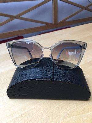 Prada Sonnenbrille Grau Silber Neu *letzter Preis*