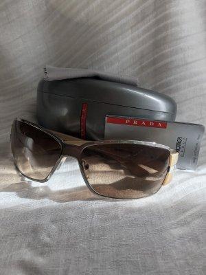 Prada Oval Sunglasses nude-silver-colored