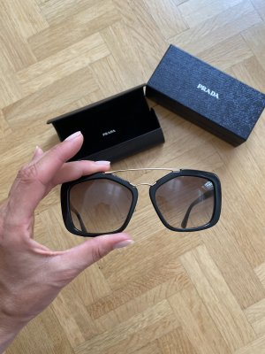 Prada Butterfly Glasses black-gold-colored