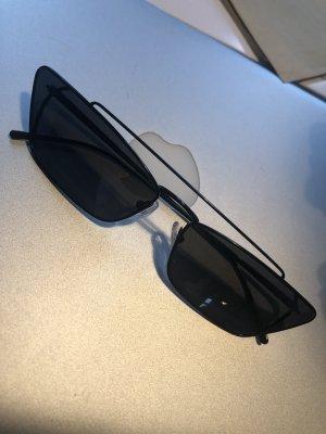 Prada Gafas Retro negro metal