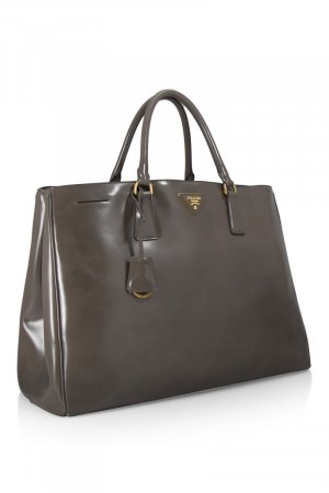 Prada Spazzolato Shopping Bag