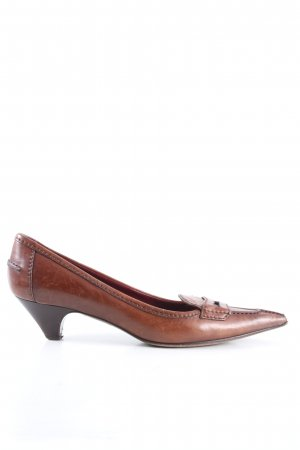 Prada Spitz-Pumps braun Casual-Look