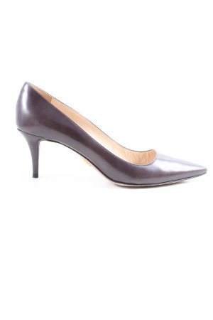 Prada Spitz-Pumps braun Business-Look