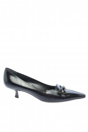 Prada Spitz-Pumps schwarz Casual-Look