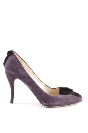 Prada Spitz-Pumps lila Elegant