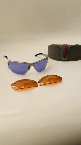 Prada Angular Shaped Sunglasses multicolored