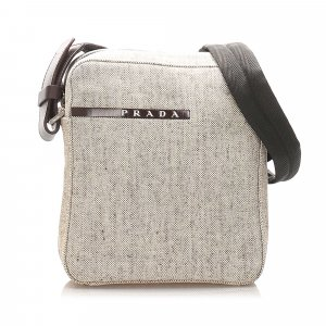 Prada Sports Canvas Crossbody Bag