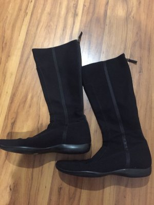 Prada Halfhoge laarzen zwart