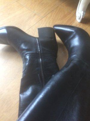 PRADA Stiefel in Schwarz Gr. 37,5 fast neu