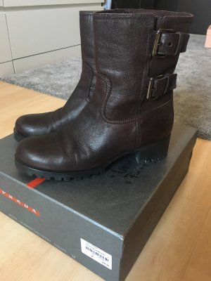 Prada Booties multicolored leather