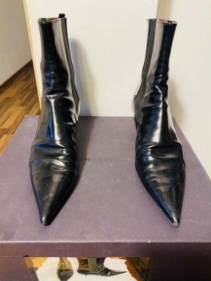 Prada Slip-on laarzen zwart