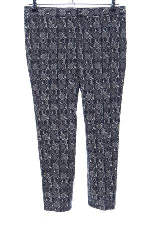 Prada Pantalon en jersey gris clair motif abstrait style d'affaires