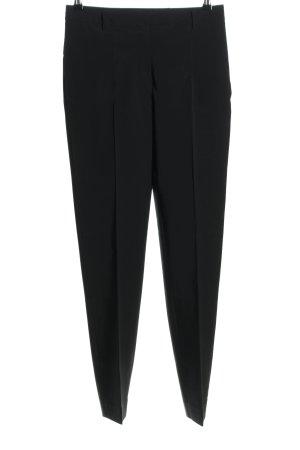Prada Pantalon en jersey noir style d'affaires